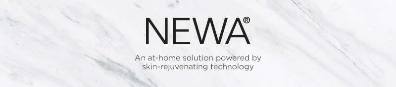 NEWA. An at-home solution powered by skin-rejuvenating technology.