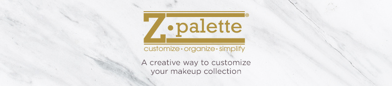Z Palette. A creative way to customize your makeup collection.