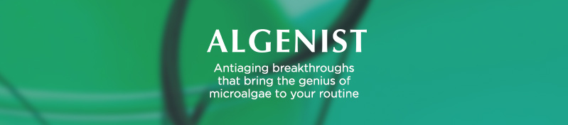Algenist, Antiaging breakthroughs that bring the genius of microalgae to your routine