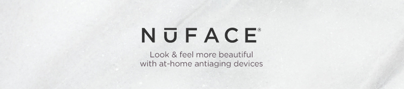 NuFACE, Look & feel more beautiful with at-home antiaging devices