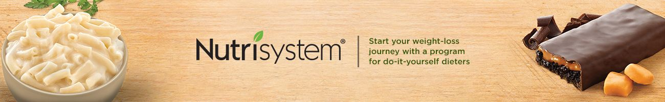 Nutrisystem(R) Start your weight-loss journey with a program for do-it-yourself dieters