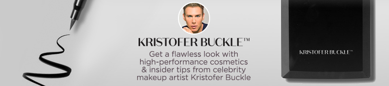 Kristofer Buckle, Put the focus on your favorite features with these high-performance cosmetics