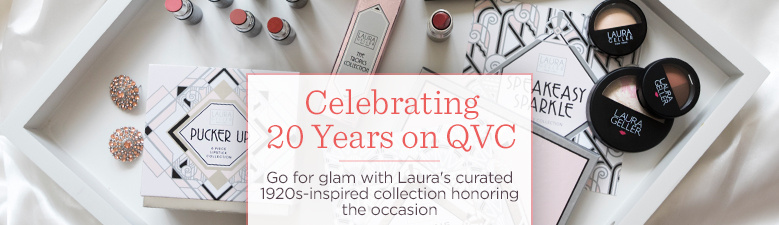 Celebrating 20 Years on QVC  Go for glam with Laura's curated 1920s-inspired collection honoring the occasion