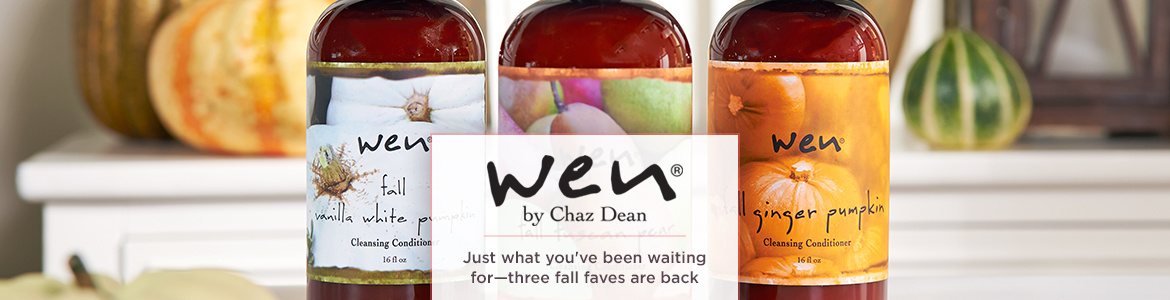 WEN by Chaz Dean Just what you've been waiting for—three fall faves are back