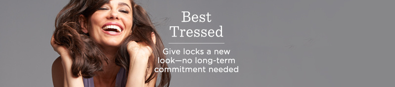 Best Tressed  Give locks a new look—no long-term commitment needed