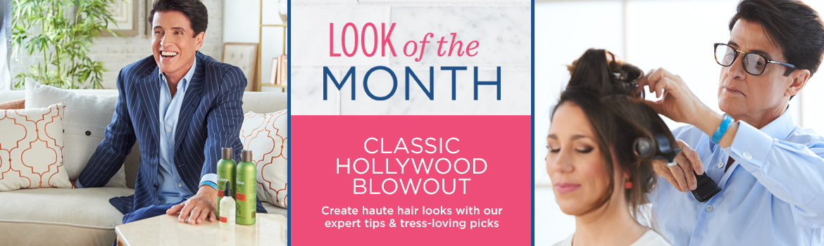Love Your Locks. Classic Hollywood Blowout  Create haute hair looks with our expert tips & tress-loving picks