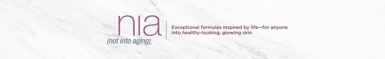 nia. Exceptional formulas inspired by life—for anyone into healthy-looking, glowing skin