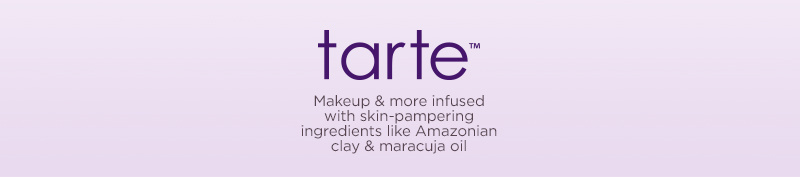 Makeup & more with skin-pampering ingredients like Amazonian clay & maracuja oil