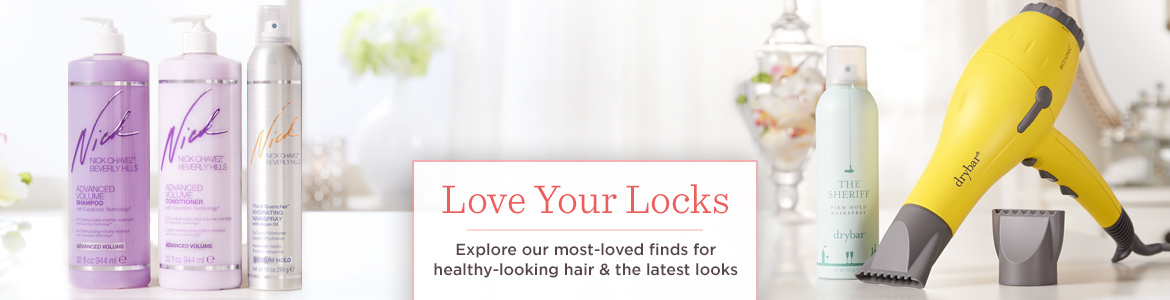 Love Your Locks, Explore our most-loved finds for healthy-looking hair & the latest looks