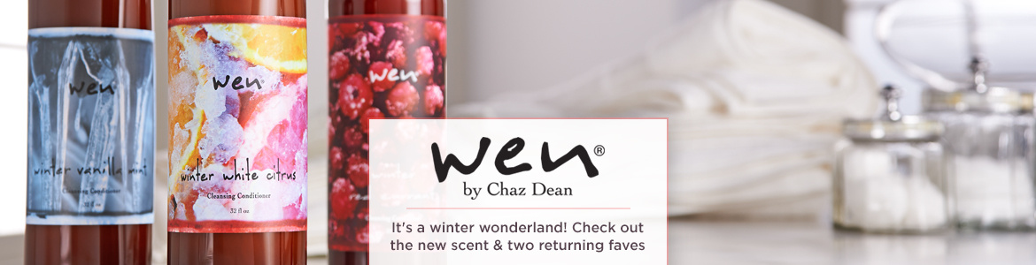 WEN by Chaz Dean, It's a winter wonderland! Check out the new scent & two returning faves