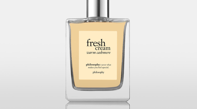 philosophy fresh cream warm cashmere eau de toilette 2 fl. oz