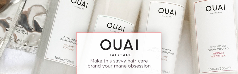 OUAI  Make this savvy hair-care brand your mane obsession