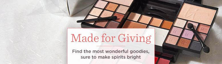 Made for Giving, Find the most wonderful goodies, sure to make spirits bright