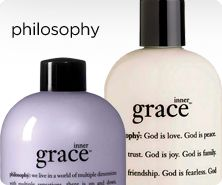 philosophy inner grace gel & lotion duo