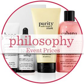 philosophy Event Prices