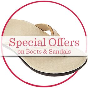 Special Offers on Boots & Sandals