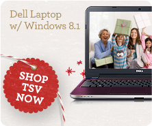 Dell Laptop with Windows 8.1