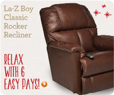 La-Z Boy Classic Rocker Recliner