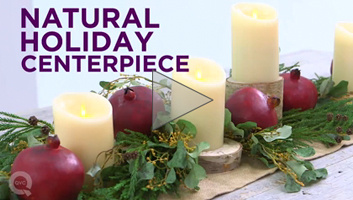 Natural Holiday Centerpiece