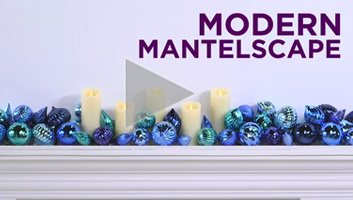 Modern Mantelscape
