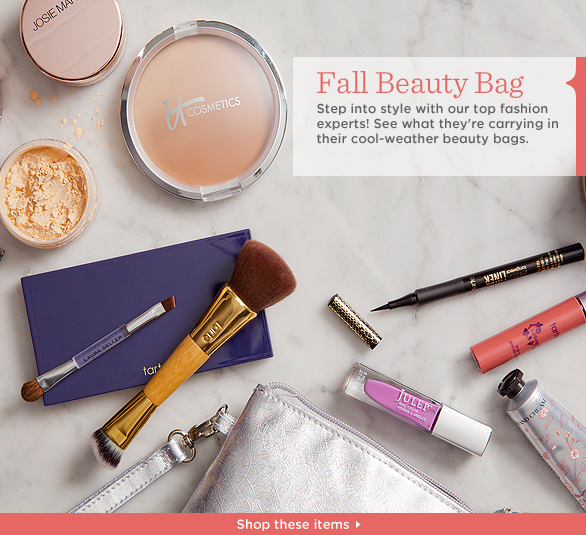 Fall Beauty Bag