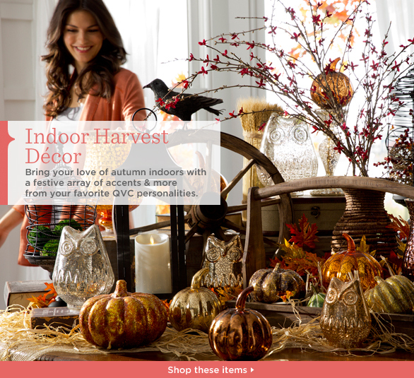 Indoor Harvest Décor