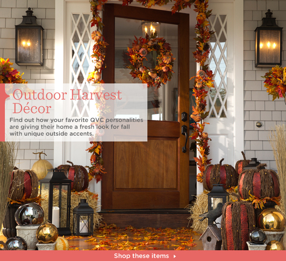Outdoor Harvest Décor