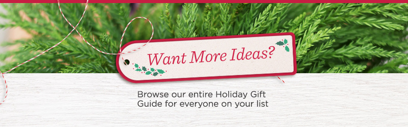 Want More Ideas?  Browse our entire Holiday Gift Guide for everyone on your list