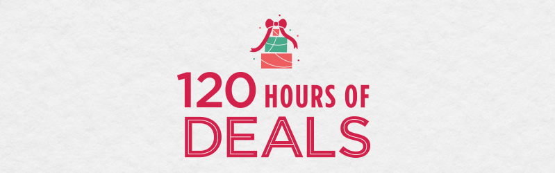 120 Hours of Deals