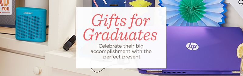 Gifts for Graduates Celebrate their big accomplishment with the perfect present