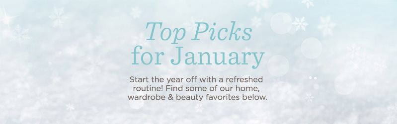 Top Picks for January