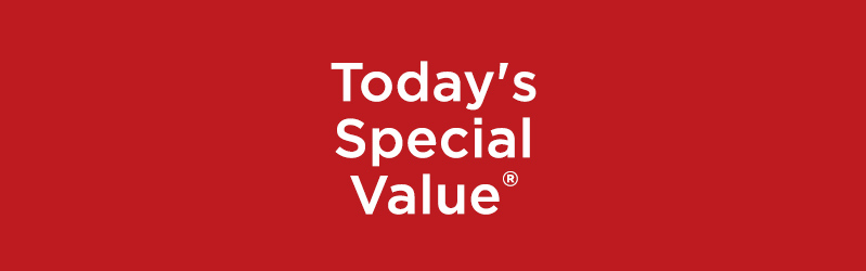 Today's Special Value