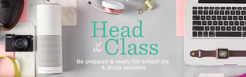 Head of the Class. Be prepped & ready for school life & study sessions