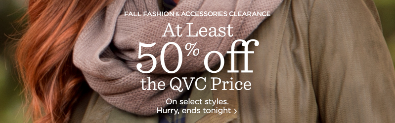 Fall Fashion and Accessories Clearance