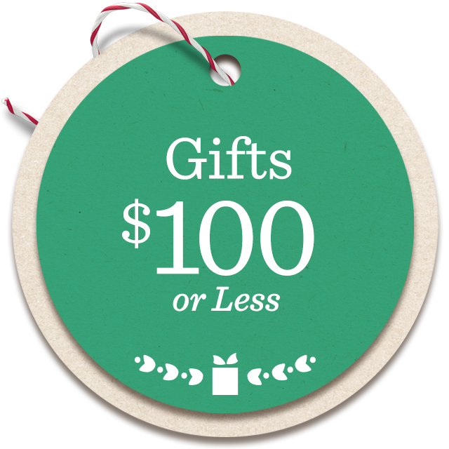 Gifts $100 or Less