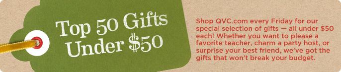 Top 50 Gifts Under $50