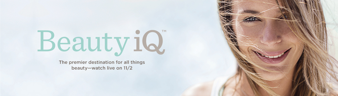Beauty iQ™, The premier destination for all things beauty—watch live on 11/2