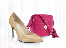 Isaac Mizrahi Live!(TM) Camera Bag, G.I.L.I.(TM) High-Heel Pumps