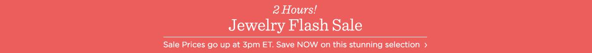 Jewelry Flash Sale