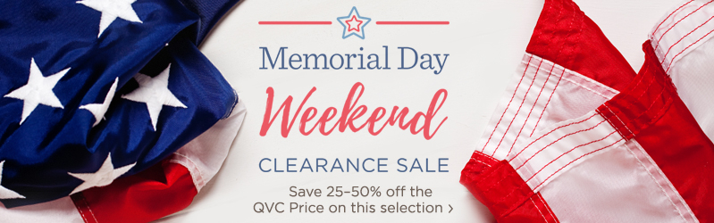 Memorial Day Weekend Clearance Sale