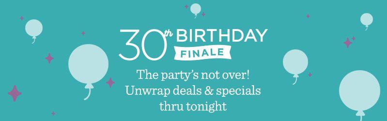 30th Birthday Celebration Finale