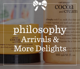 philosophy New Arrivals & Offers