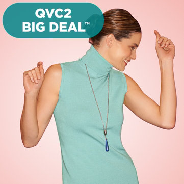 Linea by Louis Dell'Olio Sleeveless Turtleneck QVC2 Big Deal