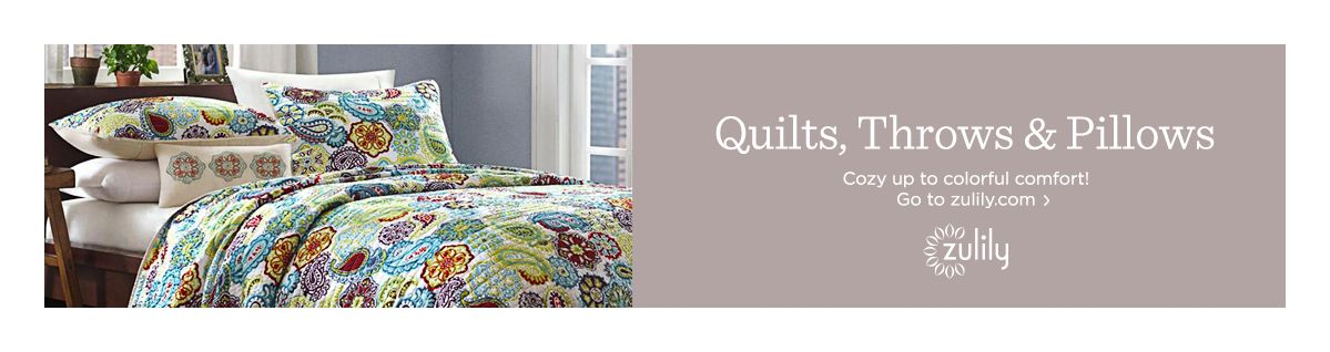 Quilts, Throws & Pillows