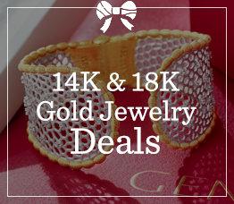 14K & 18K Gold Jewelry Deals