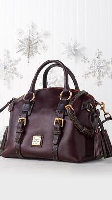 Dooney & Bourke Toledo Leather Domed Satchel