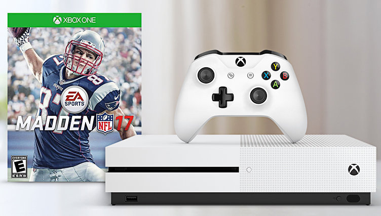 NEW! Xbox One S with Madden NFL 17
