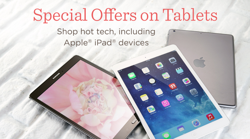 Special Offers on Tablets