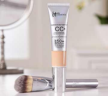 IT Cosmetics Full Coverage Physical SPF 50 CCCream w/ Brush