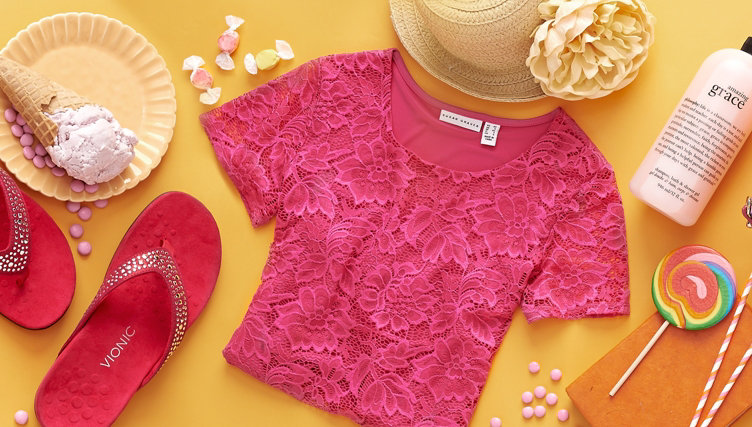 Pops of Pink — Get flirty with our Color of the Month